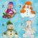 Выбери одного своего из этих 16 симпатичных снеговиков и получи предсказание на эту зиму!