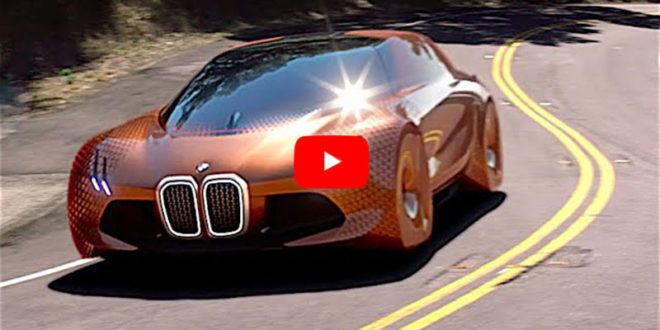 Продвинутая современность — автомобиль BMW Vision Next 100