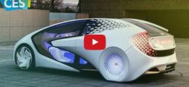 Как видит будущее Toyota — Concept-i…