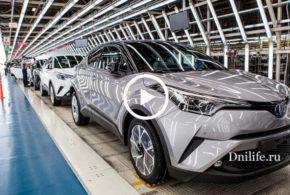 Toyota Поражает! Авто с Конвейера каждые 1.5 минуты