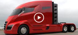 Без дозаправки 2000 км! Первый в мире электро-водородный грузовик Nikola One
