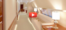Взгляд на самолёт В.В. Путина изнутри, или как выглядит «Летающий Офис» президента