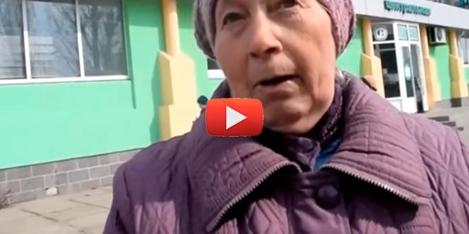 Смелая женщина! Жительница Северодонецка о Власти, Украинском языке и о том как раньше жили