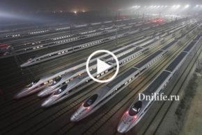 Китайцы поражают своими достижениями! Самая быстрая в мире железная дорога