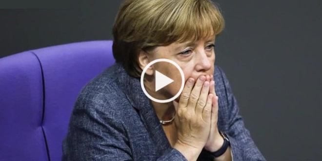 Госпожа Меркель закипала от стыда и злости, когда этот немец говорил жёсткую правду