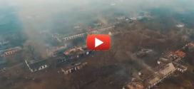 Итог взрывов в Балаклее с беспилотного аппарата
