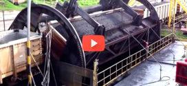 Разгрузка вагонов с углём в Китае. Как это происходит…
