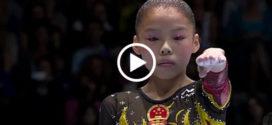 Она сразила СРАЗУ Всех! Самый необычный элемент от маленькой корейской гимнастки