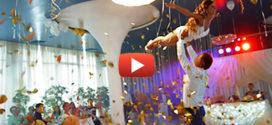 Волшебный свадебный танец молодожен! Дух захватывает с первых секунд…
