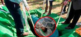 Женщина родила в гробу во время собственных похорон