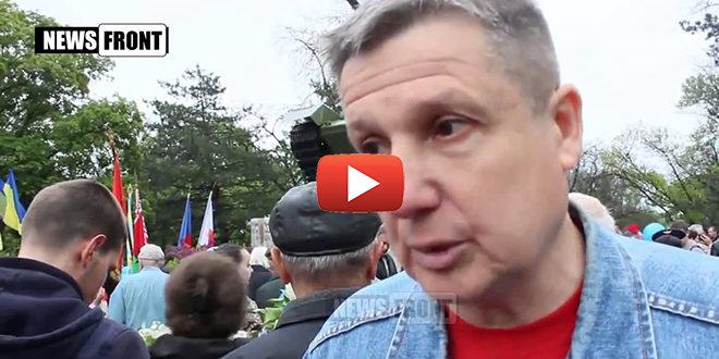 Украинская патриотка взбесилась, услышав мнение этого СОВЕТСКОГО Человека!