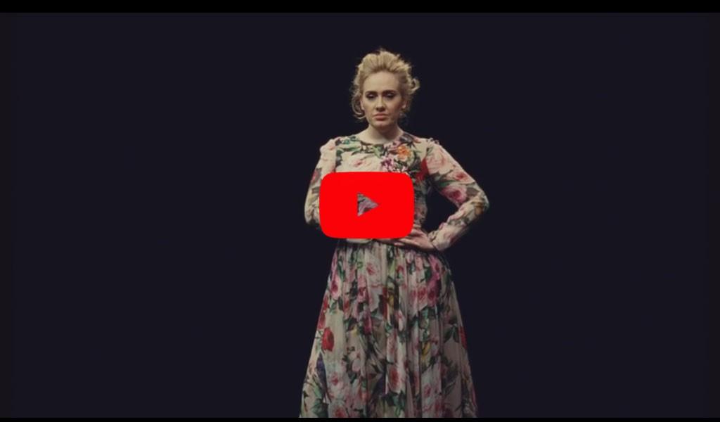 Новый видео клип с песней Adele набирает обороты - Send My Love