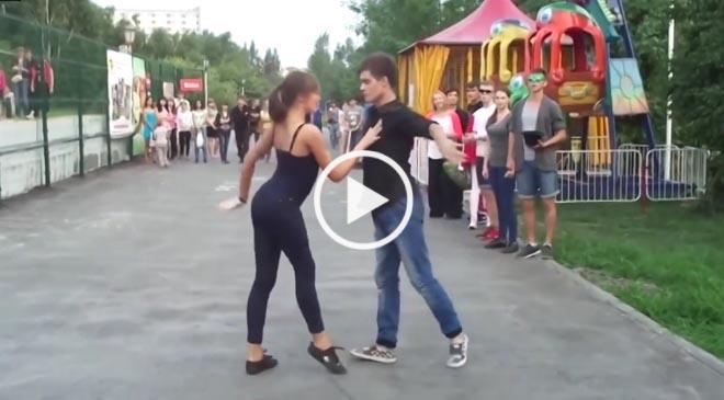 Танец этих двоих стал вдохновением для Миллионов Влюбленных. Хит сайта «Одноклассники!»