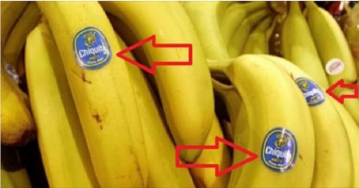 Будьте бдительны, когда покупаете бананы! Вы знаете, что означают ЭТИ наклейки?