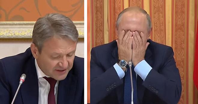 Министр довел Путина до слез, предложив продавать свинину мусульманам