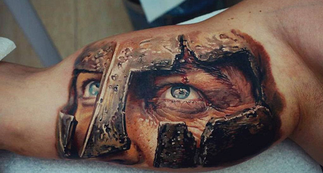 15 сумасшедших 3D татуировок