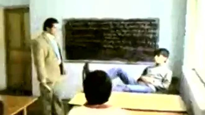 Студент! Не шути с кавказским учителем!!!