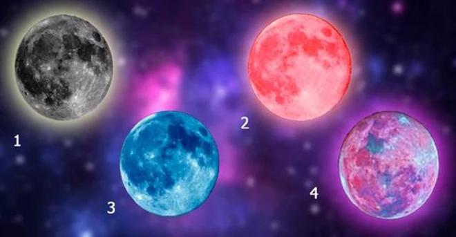 Тест. Луна скажет правду! Узнайте, что вас ждет в 2018 году. Точность 99,9%