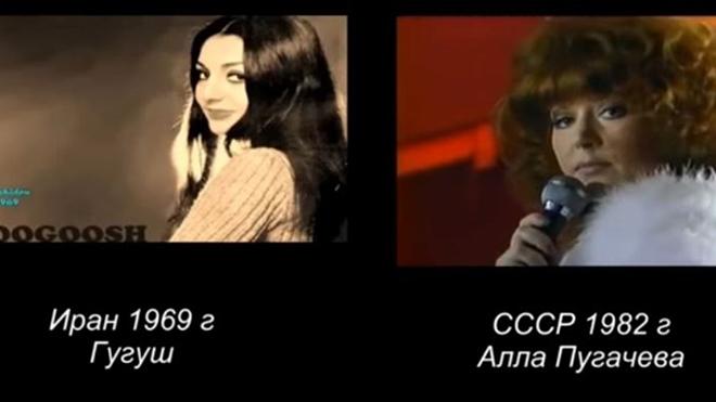 «Миллион алых роз» Алла Пугачева впервые спела в 1982г — а теперь сравните эту песню Гугуш 1969г