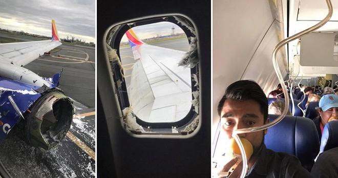 Американец вел прямую трансляцию из терпящего бедствие самолета